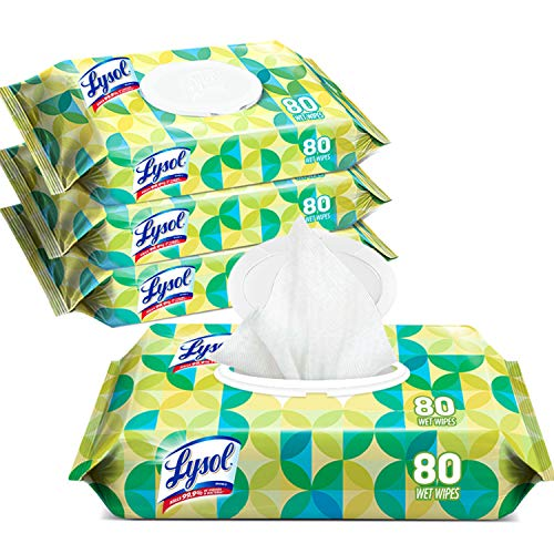 Cleaner Wipes (Lysol Handi-Pack Disinfecting Wipes, 320ct (4X80ct), Brighter Horizon)