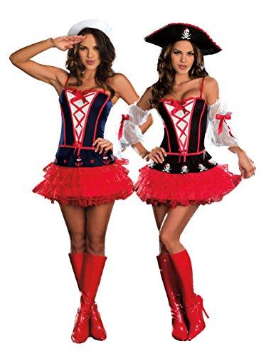 [Dream Girl 7592 DAMES AT SEA color:COSTUME size:L] (Dames At Sea Costumes)