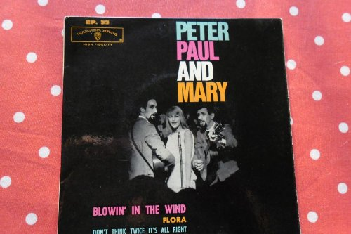 PETER PAUL AND MARY EP BLOWIN' IN THE WIND 60S FRANCE