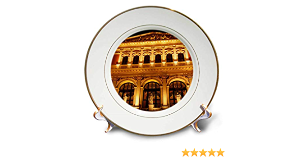 3drose Cp 75916 1 Austria Vienna Music Hall Philharmonic Orchestra Eu03 Rdu0031 Richard Duval Porcelain Plate 8 Amazon Ca Home Kitchen