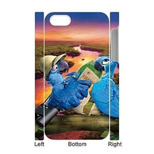 Rio HILDA0013417 3D Art Print Design Phone Back Case Customized Hard Shell Protection Iphone 4,4S