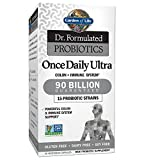 Garden of Life - Dr. Formulated Adult Probiotics Once Daily Ultra - Acidophilus Probiotic Supports Colon, Digestion, Immune System - Gluten, Soy-Free, Non-GMO - 30 Vegetarian Capsules (Shipped Cold)