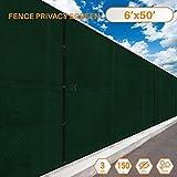 Sunshades Depot B01MA2BCA2 : 705641580835, 06′ x 50′, Green
