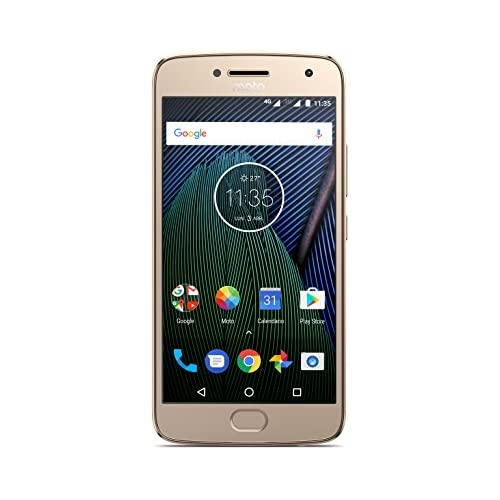 chollos oferta descuentos barato Moto G 5ª Generación Plus Smartphone libre Android 7 pantalla de 5 2 Full HD 4 G cámara de 12 MP Dual Pixel 3 GB de RAM 32 GB Qualcomm Snapdragon 2 0 GHz color dorado Exclusivo Amazon