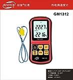 BENETECH GM1312 Digital K Type Thermocouple Temperature Meter Monitor -50~300 C Thermometer Termometro