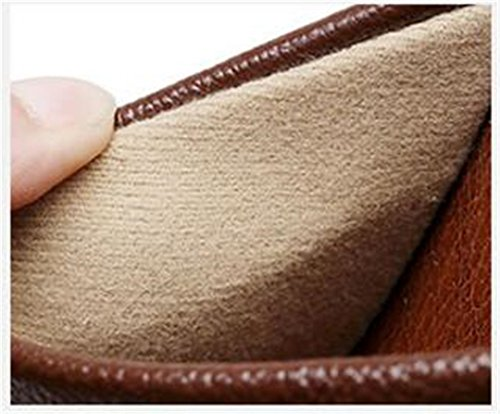 Leather Cowhide Autumn Summer Wooden Corium Slippers Floor Men Smelly Spring TELLW W for Anti Rose Women 1Xp4qA