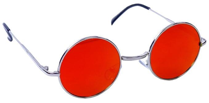 Morpheus Daredevil gafas de sol con gótico hielo Rosa lentes, (Rojo), 43mm