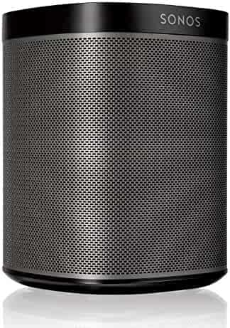 Original Sonos Play:1 - Compact Wireless Speaker for streaming music, Metallic black, Works with Alexa