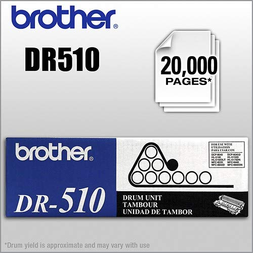 (Brother DR510 20000 Page Drum Unit - Retail Packaging)