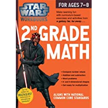Star Wars Workbook: 2nd Grade Math (Star Wars Workbooks)