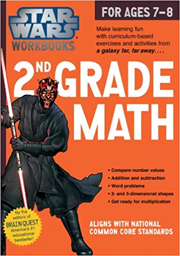 Star Wars Workbook: 2nd Grade Math (Star Wars Workbooks): Workman ...