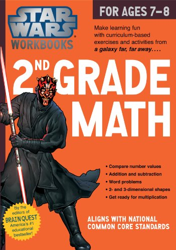 Star Wars Workbook: 2nd Grade Math (Star Wars