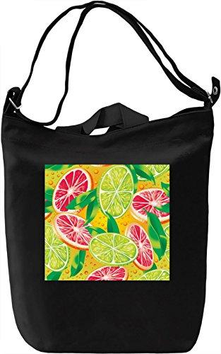 Fruits Texture Borsa Giornaliera Canvas Canvas Day Bag| 100% Premium Cotton Canvas| DTG Printing|