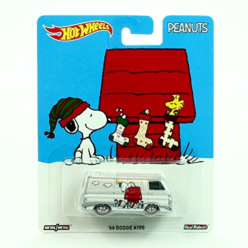 - Pop Culture '66 Dodge A100 / A Charlie Brown Christmas Peanuts 2016 Hot Wheels Series 1:64 Scale Die-Cast Vehicle