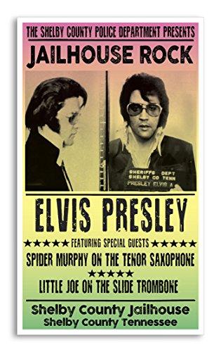 Per Diem Printing - Elvis Presley Jailhouse Rock Mug Shot 13
