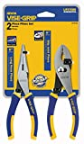 Irwin Vise Grip 2078702 ProPlier Set With Slip Joint & Long Nose Pliers 2 Count