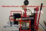 "4x7"" Rosin Press Plates (6061 Aluminum) with four"