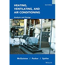 Heating, Ventilating and Air Conditioning: Analysis and Design