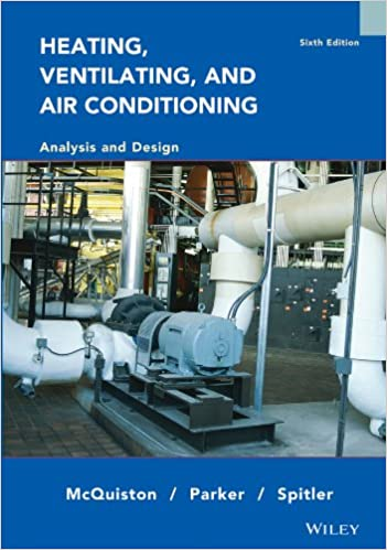 Heating, Ventilating and Air Conditioning Analysis and