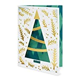 Two Arms Holiday Tree Boxed Holiday Cards