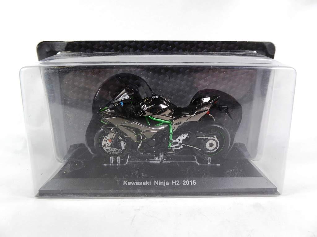 OPO 10 - Motocicleta Kawasaki Ninja H2 2015 1/18 (Ref: B001 ...