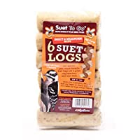 Suet to go Insect and Mealworm Logs, Pack of 36