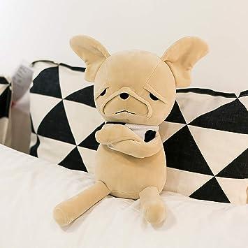 Amazon.com: FRANKIE ZHOU Peluche de perro de peluche de ...