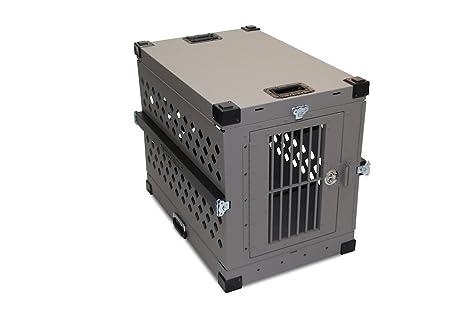 Impacto carcasa plegable de perro Crate - gran IATA perro ...