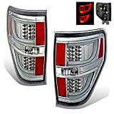 SPPC Chrome LED Tail lights Set For Ford F-150 Version 2 – Passenger and Driver Side