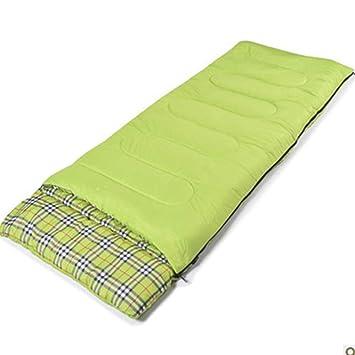 TUWEN Sobre Saco de Dormir con Almohada Todo-en-uno Invierno al Aire Libre Impermeable Portátil Camping Bolsa de Dormir: Amazon.es: Jardín