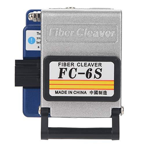 光ファイバーツールキット、FTTHスプライシングスプライス光ファイバーストリッピングツールキットセット、Fibre Cleaver FC-6S + 1mv Visual Fault Locator +光ファイバーストリッパーYW-8FS +光ファイバーストリッパーCFS-3