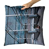 Westlake Art - Architecture Organization - Decorative Throw Pillow Cushion - Picture Photography Artwork Home Decor Living Room - 18x18 Inch (8AD8-509C7)