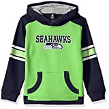 "NFL Boys 4-7 ""Allegiance"" Pullover Hoodie-Action Green-S(4), Seattle Seahawks"