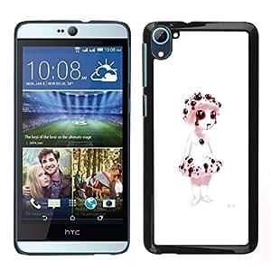 All Phone Most Case / Oferta Especial Duro Teléfono Inteligente PC Cáscara Funda Cubierta de proteccion Caso / Hard Case HTC Desire D826 // Bleeding Puppet - Evil Goth