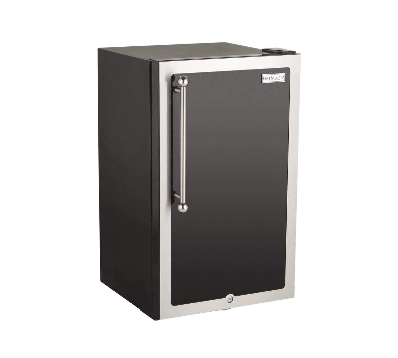 Fire Magic 20-inch 4.0 Cu. Ft. Echelon Black Diamond Right Hinge Compact Refrigerator - Black - 3598h-dr by Fire Magic