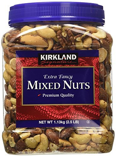 Kirkland Signature, Extra Fancy Mixed Nuts 40 Ounce (Pack of 6) by Kirkland Signature