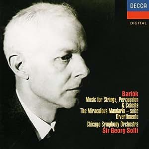 Bartok: Music for Strings/Divertimento/The Miraculous Mandarin (Suite)