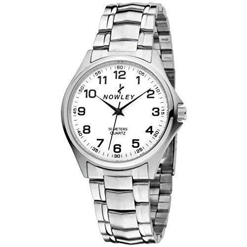 Nowley 8-2651-0-0, Reloj de hombre, fondo y brazalete