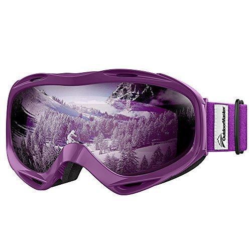 OutdoorMaster OTG Ski Goggles - Over Glasses Ski /