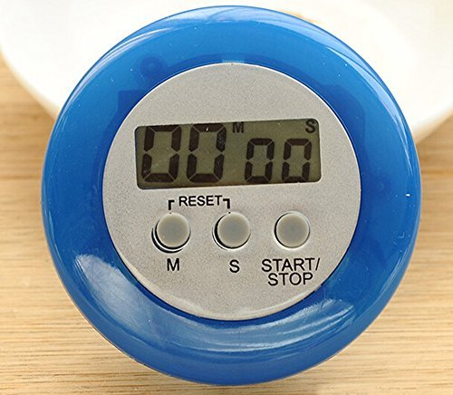 Price comparison product image 2015 New Wholesale Electronic LCD Display Circular Timer Digital Timer Kitchen Timer (Blue)