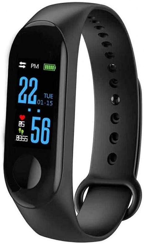 M3 Intelligence Bluetooth Health Wrist Smart Band Watch Monitor/Smart Bracelet/Health Bracelet/Activity Tracker/Smart Fitness Band Compatible for All ...
