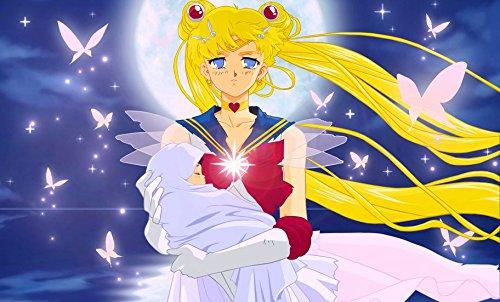 Bishoujo Senshi Sailor Moon Sailor Stars Customized 23x14 inch Silk Print Poster/WallPaper Great Gift