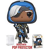 Funko Pop! Games: Overwatch - Ana Vinyl Figure (Bundled with Pop Box Protector Case)