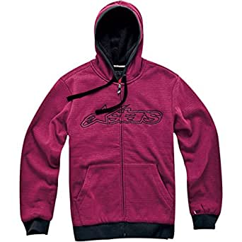 ALPINESTARS Verde Sweatshirt Cotton Polyester Red Small