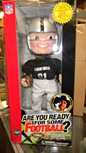 NFL-rockin' Randall 17' Doll Sings & Dances Featuring Hank William Jr.'s Monday Night Football Theme Song