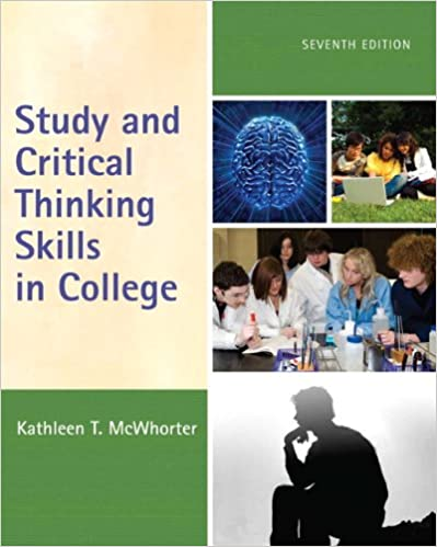 critical thinking and study skills final exam Learn the basics of critical thinking, an essential skill for problem solving and decision making  score 70% or higher on final exam  education units, you can leave final comments in the self study course evaluation.