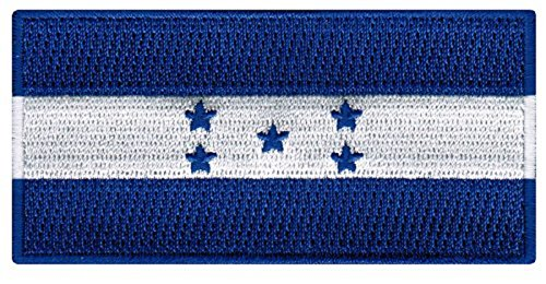 Honduras Flag Embroidered Patch Iron-On Honduran Catracho National Emblem