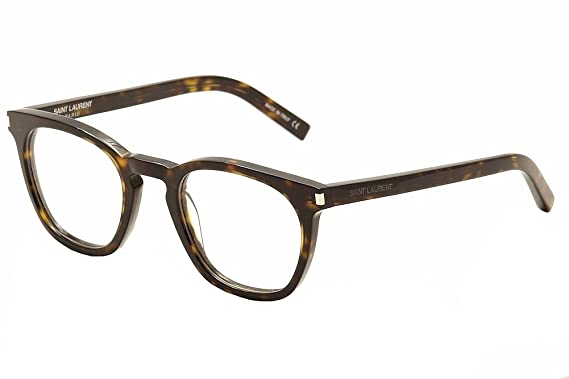 99692cc2c5 Saint Laurent Eyeglasses SL30 SL 30 002 Havana Transparent Optical Frame  49mm