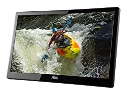 AOC e1659Fwux- Pro 16-Inch Class, Full HD 1920x1080 Res, 300 cd/m2 Brightness, USB 3.0-Powered, Portable LED Monitor
