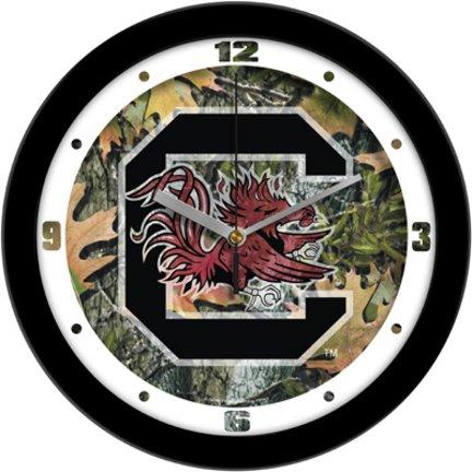 South Carolina Gamecocks USC NCAA 12In Camo Wall Clock